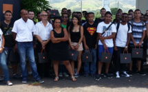 Orange fait découvrir aux étudiants de 1ère année du département Réseaux et Télécommunications de l'IUT de La Réunion, un de ses sites techniques, situé dans le Nord de l'île.