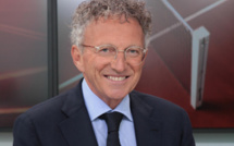 Le nouveau conseil d'administration du Press Club de France présidé par Nelson Monfort (France Télévisions)